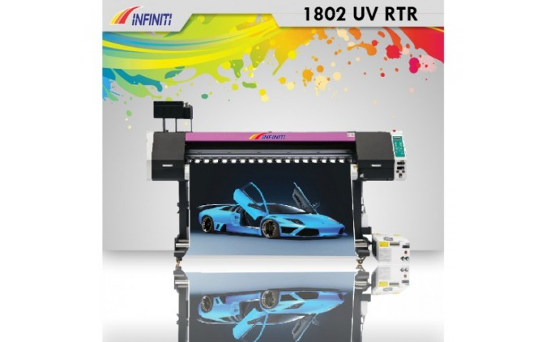 Harga Mesin Digital Printing 1802 UV Roll To Roll