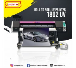 Mesin digital printing 1802 UV Roll To Roll ( 1 Head )