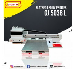 FLATBED LED UV GJ-5038 L ( With Varnish ) 6 Head