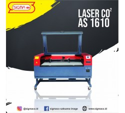 Mesin Laser Cutting Engraving  AS 1610 Double Head