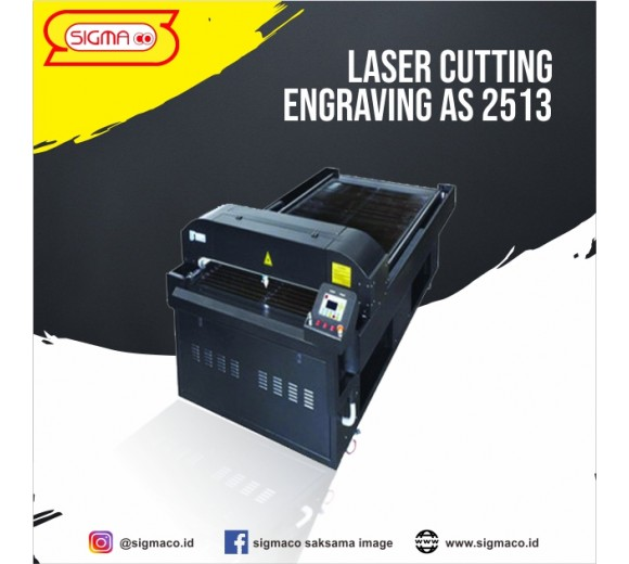 Mesin Laser Cutting Engraving AS 2513