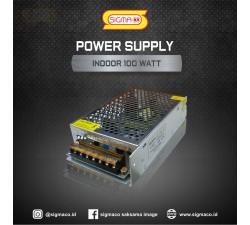 Power Supply Indoor 12V 100W 8.3A