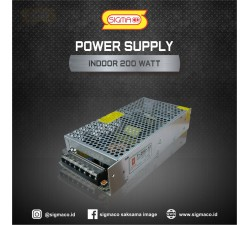 Power Supply Indoor 12V 200W 16.6A