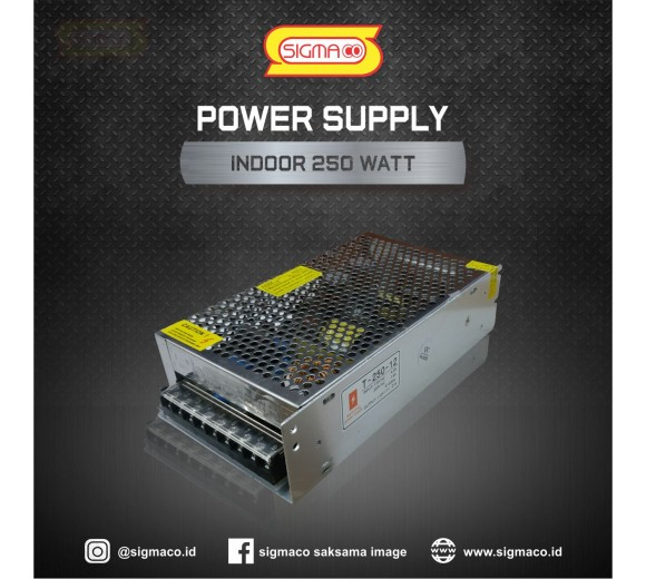 Power Supply Indoor 12V 250W 20.83A