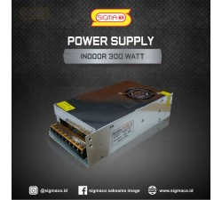 Power Supply Indoor 12V 300W 25A