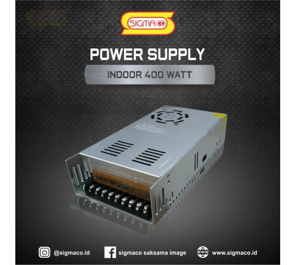 Power Supply Indoor 12V 400W 33.3A