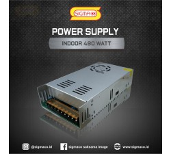 Power Supply Indoor 12V 480W 40A