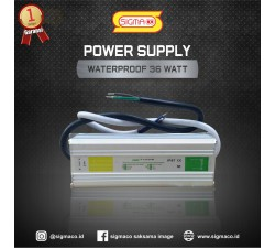 Power Supply Waterproof 12V 36W 3A