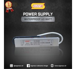 Power Supply Waterproof 12V 40W 3.3A