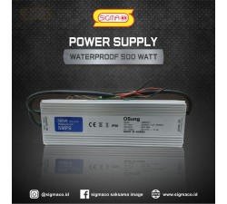 Power Supply Waterproof  12V 500W  41.6A