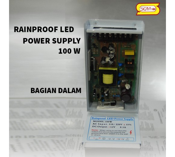 RAINPROOF LED POWER SUPLY 100 W