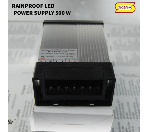 RAINPROOF LED POWER SUPLY 250 W