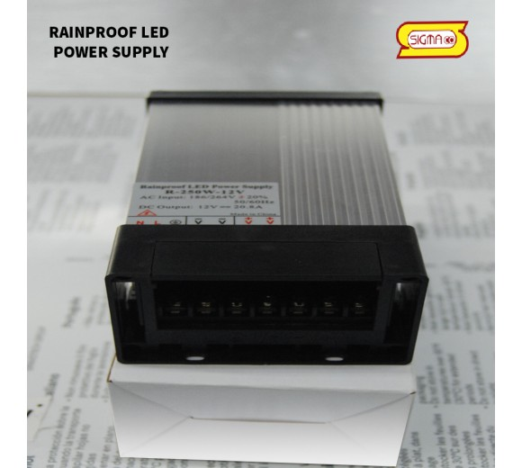 RAINPROOF LED POWER SUPLY 400 W